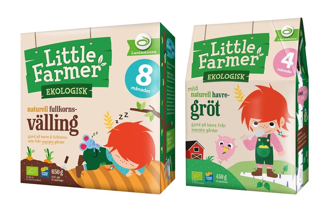 Little Farmer, ekologisk väling och gröt